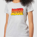Danger Mouse Colour Logo Women's T-Shirt - Grey