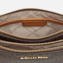 MICHAEL MICHAEL KORS Women's Large Double Pouch Cross Body Bag - Brown