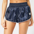 Ivy Park Women's Active Baseball Stripe Shorts - Ink