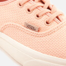 Vans Women's Woven Check Authentic Trainers - Spanish Villa/Snow White