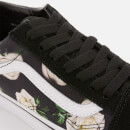 Vans Women's Romantic Floral Old Skool Trainers - Black/True White