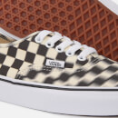 Vans Blur Check Authentic Trainers - Black/Classic White