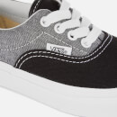 Vans Kids' Chambray Era Trainers - Black/True White