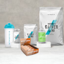 Conjunto Maximum Gains - Chocolate Chip - Fruit Punch - Chocolate Smooth