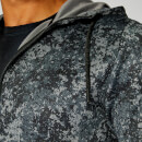 Luxe Lite Hoodie — Carbon Camo - XS