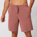 Washed Sweatshorts - Russet - XS