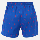 Polo Ralph Lauren Men's 3 Pack Woven Boxer Shorts - Milton Plaid/Navy/Cruise Royal