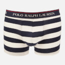 Polo Ralph Lauren Men's 3 Pack Classic Trunk Boxer Shorts - Cruise Navy/Sapphire Star/Navy/White Stripe