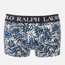 Polo Ralph Lauren Men's Classic Trunk Boxer - Cruise Navy Palm Print