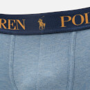 Polo Ralph Lauren Men's Classic Trunk Boxer - Delta Blue Heather