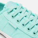Superdry Women's Low Pro Canvas Trainers - Soft Mint