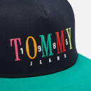 Tommy Hilfiger Men's Embroidered Cap - Black Iris/Green