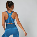 Impact Seamless Sports Bra - Ibiza Blue - XS