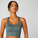 Shape Seamless Cross-Strap Bra — Castle Rock - XS