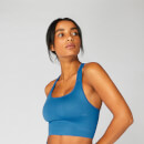 Myprotein Shape Seamless Sports Bra - Ibiza Blue - XS