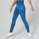 Impact Seamless Leggings - Ibiza Blue - XS