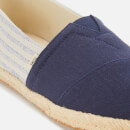 TOMS Men's Alpargata Vegan University Slip-On Pumps - Navy