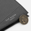 Ted Baker Men's Fiters Seamed Leather Bifold Wallet - Black