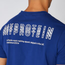 Myprotein Crew Neck Triple Graphic T-Shirt - Marine - XS