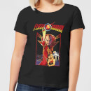 Flash Gordon Retro Movie Women's T-Shirt - Black