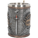 Exclusive Game of Thrones Silver Iron Throne Tankard
