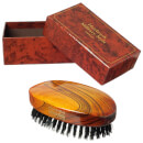 Hydrea London Military Hairbrush Gloss Finish with Pure Black Boar Bristle (Hard Strength) FSC Certified