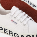 Superga Women's 2790 Cotw Outsole Lettering Trainers - White