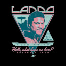 Star Wars Lando Rock Poster Women's T-Shirt - Black