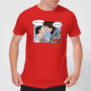Star Wars Leia Han Solo Love Men's T-Shirt - Red