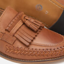 Hudson London Men's Alloa Kiltie Tassel Loafers - Cognac