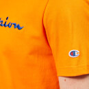 Champion Men's Script T-Shirt - Orange