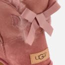 UGG Women's Mini Bailey Bow II Sheepskin Boots - Pink Dawn