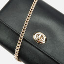 Coach Women's Turnlock Chain Cross Body Bag - Black