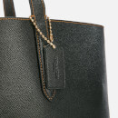 Coach Women's Crossgrain Leather 195 Tote Bag - Black