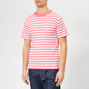 Armor Lux Men's Mc Heritage T-Shirt - New Pink/Blanc