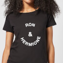 Ron & Hermione Women's T-Shirt - Black