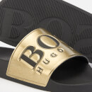 BOSS Men's Solar Slide Sandals - Gold