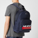 HUGO Men's Roteliebe Backpack - Navy