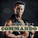 James Horner: Commando: Original Motion Picture Soundtrack (Limited Bone with Black Face Paint Splatter Vinyl) 2xLP