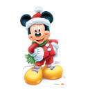 Mickey Mouse Christmas Mini Cardboard Cut Out