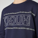 HUGO Men's Dicago Sweatshirt - Dark Blue