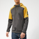 The North Face Men's Fine 2 Box Hoody - Asphalt Grey/Leopard Yellow