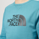 The North Face Men's Drew Peak Crew Neck Sweatshirt - Storm Blue
