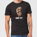 Resident Evil 2 Zombie Face Men's T-Shirt - Black