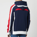 Balmain Men's Flocked Coin Hoodie - Multi