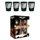 Attack on Titan Season 2 Shot Glasses