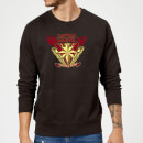 Captain Marvel Protector Of The Skies Sweatshirt - Black
