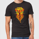 Captain Marvel Freefall Men's T-Shirt - Black
