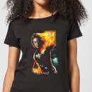 Captain Marvel Galactic Shine Women's T-Shirt - Black