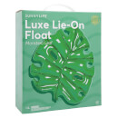 Sunnylife Luxe Lie-On Monstera Leaf Float - Green